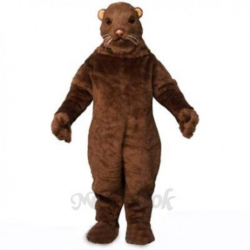 Morris Mink Mascot Costume