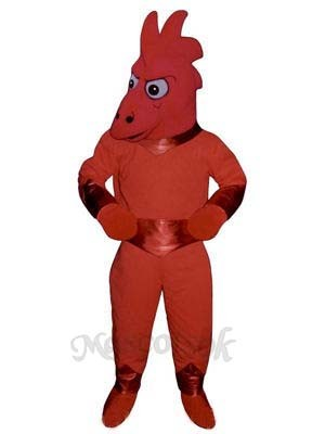 Space Lizard Mascot Costume