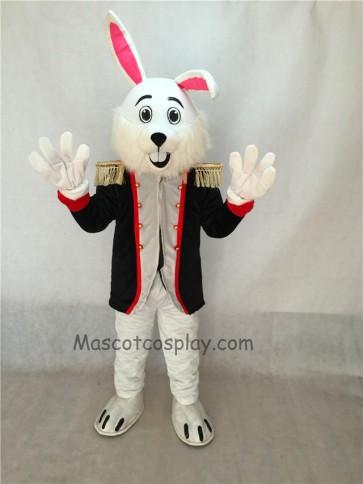 Colonel Wendall Bunny Rabbit Mascot Costume