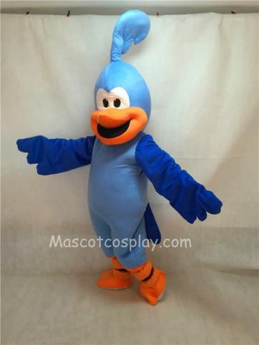 New Blue Roadrunner Bird Mascot Costume