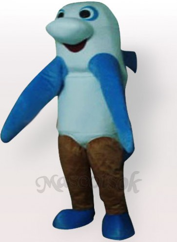 Sea Monster Adult Mascot Costume