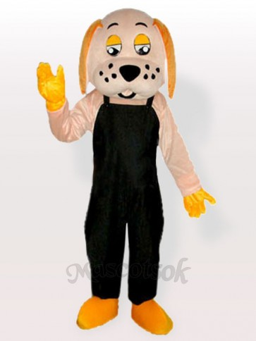 Fortune Dog Adult Mascot Costume