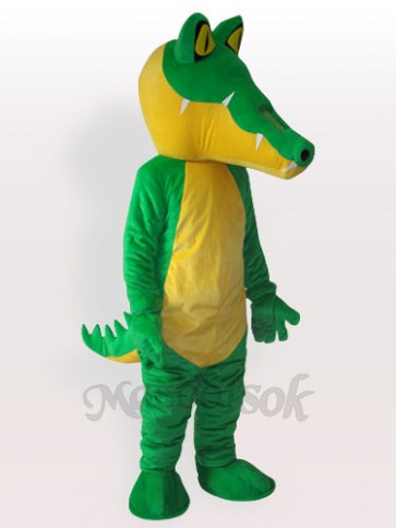 Yellow Belly Crocodile Adult Mascot Costume
