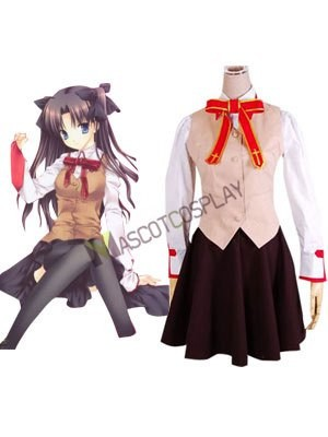 Fate/stay night Homurabara Gakuen Girl's Uniform Cosplay Costume
