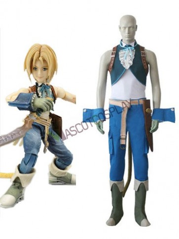 Final Fantasy IX Zidane Tribal Cosplay Costume