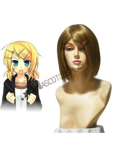 Vocaloid Kagamine Rin 45cm Cosplay Wig