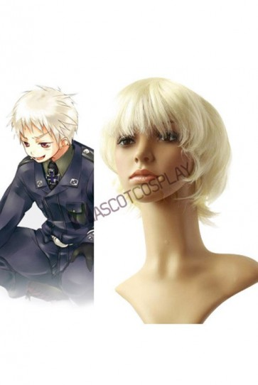 Axis powers Gilbert Bailshumit Cosplay Wig