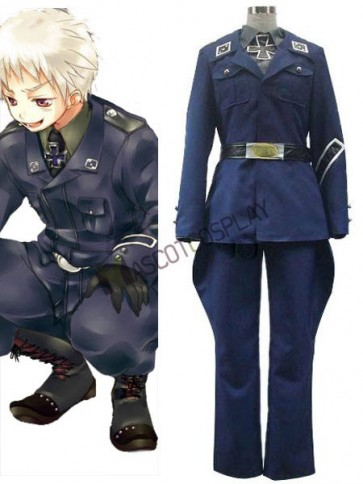 Axis Powers Prussia Gilbert Beilschmidt Cosplay Costume