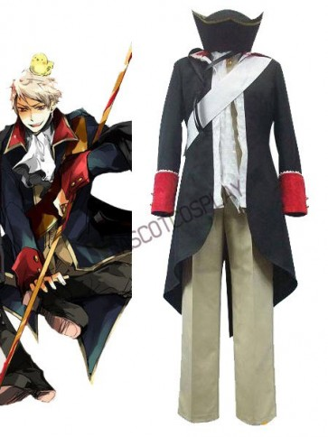 Axis Powers Prussia Cosplay Costume