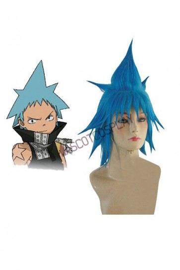 Soul Eater Black Star Cosplay Wig