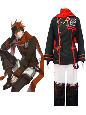 D.Gray-man Lavi Cosplay Costume