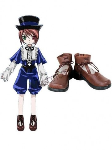 Rozen Maiden Imitated Leather Cosplay Shoes