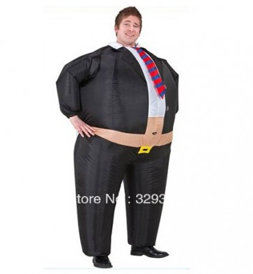 Inflatable boss costume Halloween Costume Fancy Dress Suit Party Halloween for adult