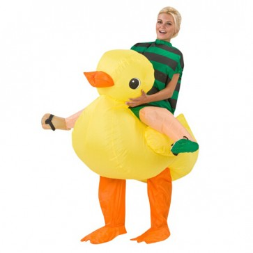 inflatable duck costume adult animal costumes christmas party costume decoration