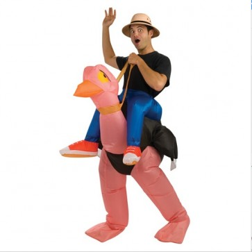 inflatable ostrich costume halloween party costume animal costumes