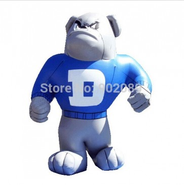 4m inflatable dog model , hot inflatable dog ground balloon, high quality dog for advertising