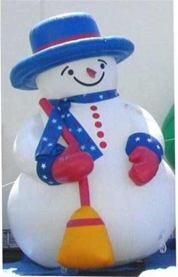 2M-2.5M Customized Inflatable cartoon snowman