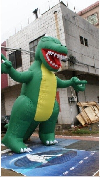 Customized Inflatable model dinosaur for advertising