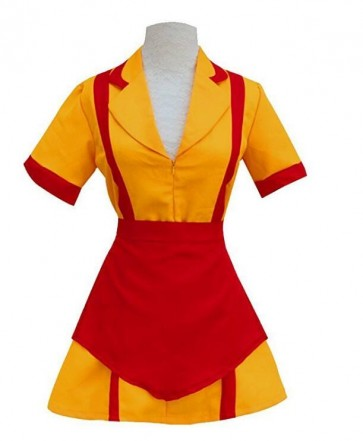 2 Broke Girls Fancy Dress Costumes TV Drama Cosplay Womens Dress