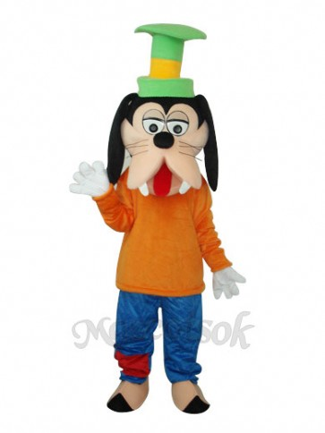 Goofy Dog Mascot Adult Costumes