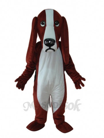 Dog Short Plush Adult Mascot Costume