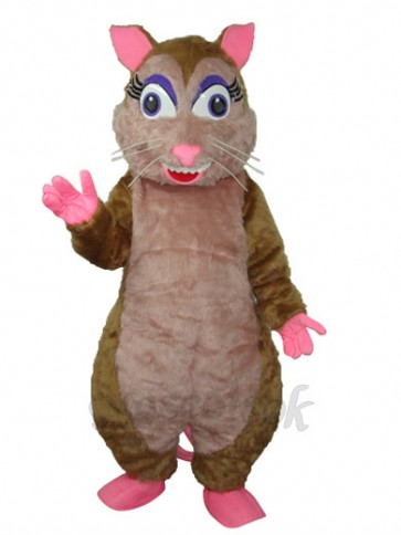 Vole Plush Mascot Adult Costume