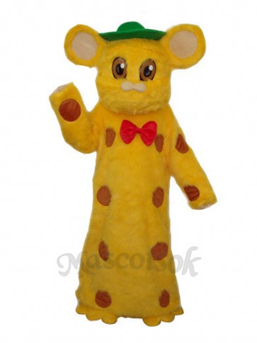 Kuhn Mouse Plush Mascot Adult Costume
