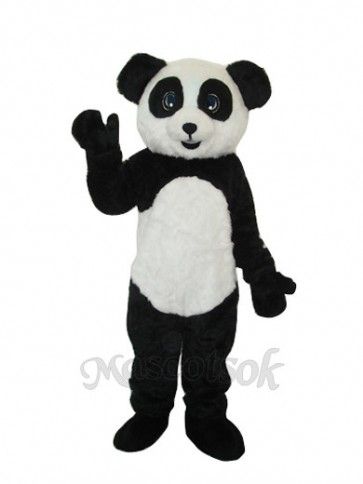 2nd Version Plush Panda Adult Mascot Costume