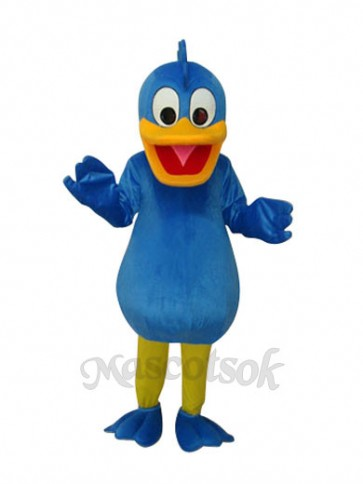 Blue Duck Plush Mascot Adult Costume