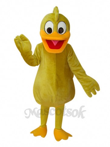 Yellow Duck Adult Mascot Costume