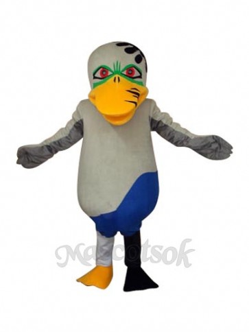 Odd Duck Mascot Adult Costume