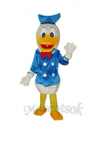 Old Version Donald Duck Plush Mascot Costume