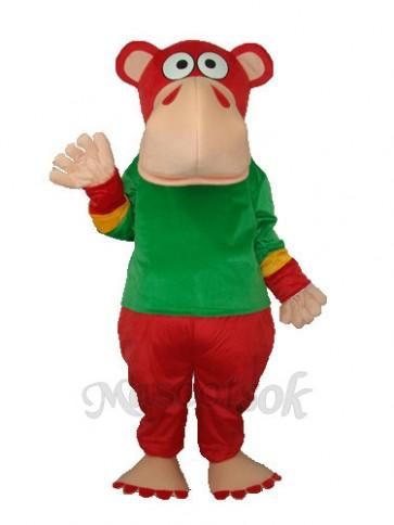 Funny Gorilla Mascot Adult Costume