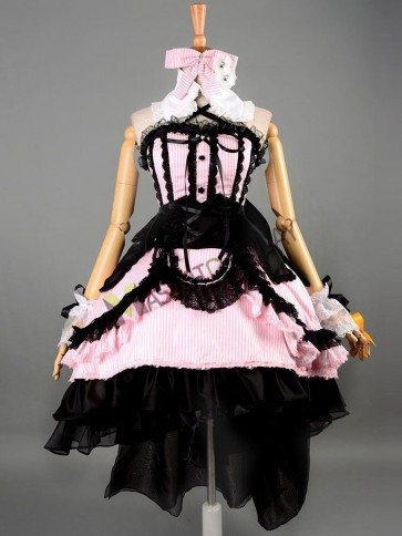 Macross Frontier Sheryl Nome Cosplay Costumes