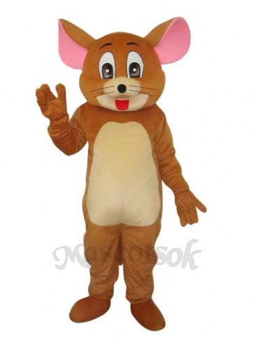2nd Version Jerry Rat Mascot Adult Costume