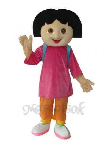 6th Version Dora Mascot Adult Costume