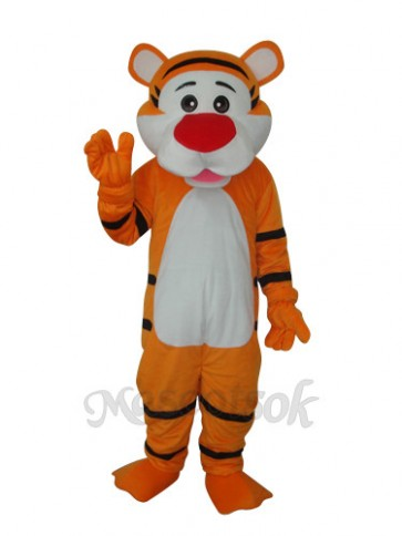 Good Tiger Adult Mascot Costume