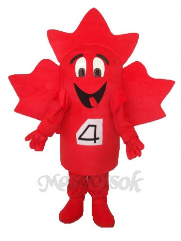 Maple Leaves Mascot Adult Costume