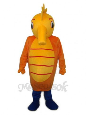 Sea Horse Mascot Adult Costume