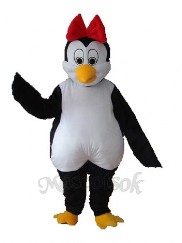 Flower Penguin Mascot Adult Costume