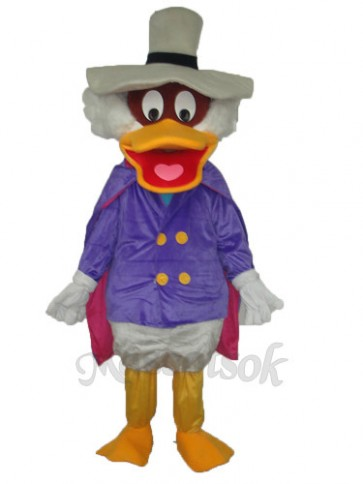 Revised Version of Hat Duck Mascot Adult Costume