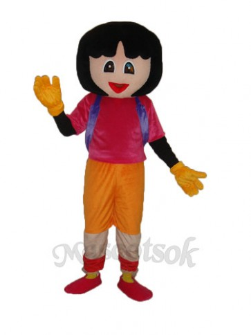 2nd Dora Mascot Adult Costume