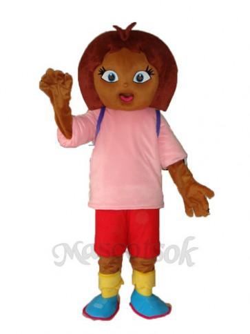 3rd Dora Mascot Adult Costume
