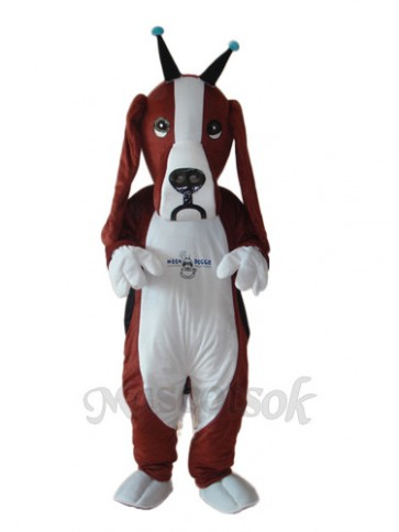 Revised Basset Dog Mascot Adult Costume