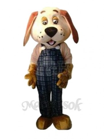 Lucky Dog Mascot Adult Costume