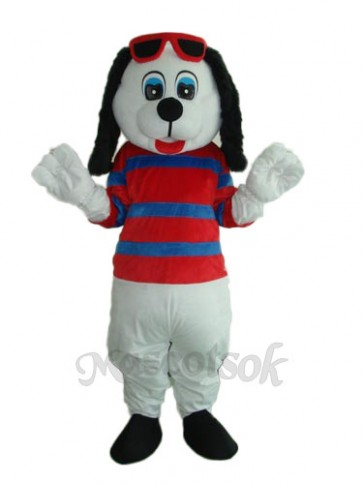 Happy Dog Mascot Adult Costume