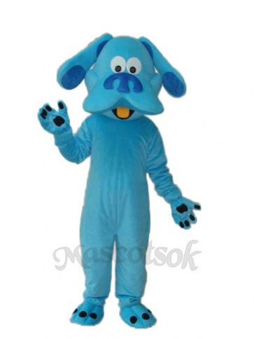 Blue Dog Mascot Adult Costume