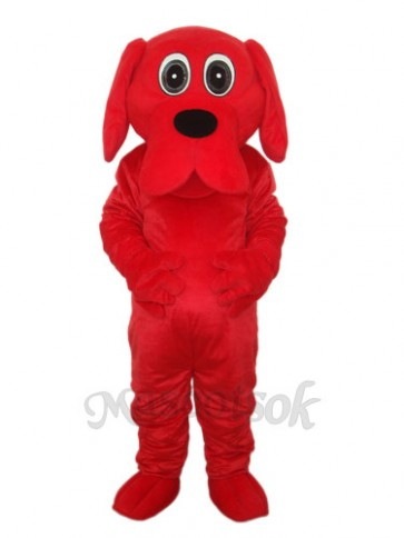 Rooney Red Dog Mascot Adult Costume