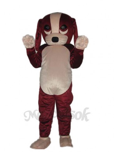 Fortune Dog Mascot Adult Costume