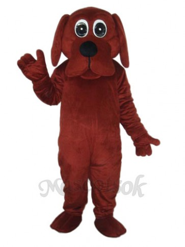 Rooney Brown Dog Mascot Adult Costume